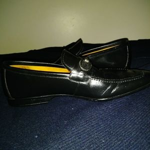 BLACK LEATHER MAGNINNIS SIZE 8.5